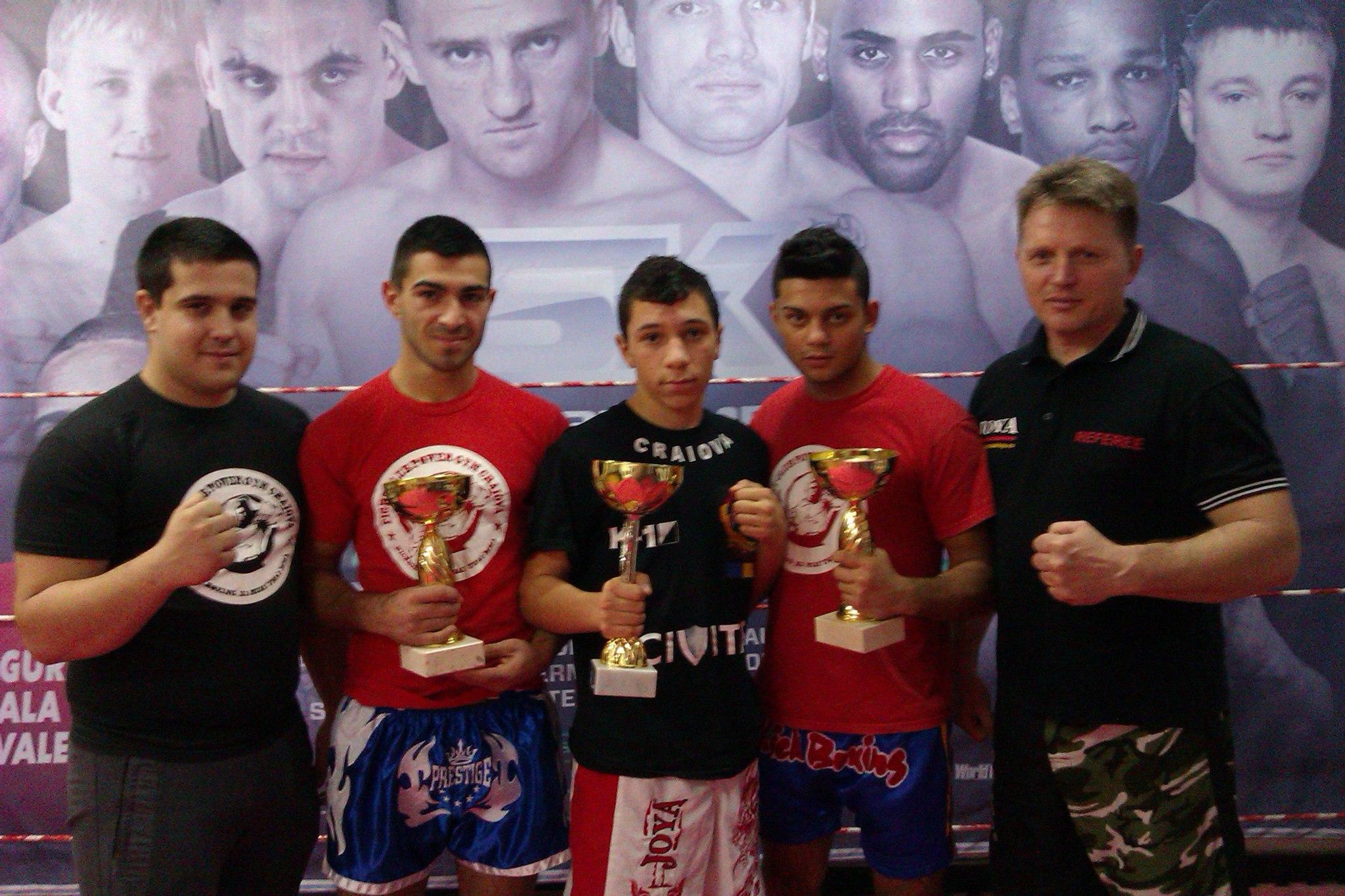 Victorii  importante la competiția de Kickboxing la Sibiu