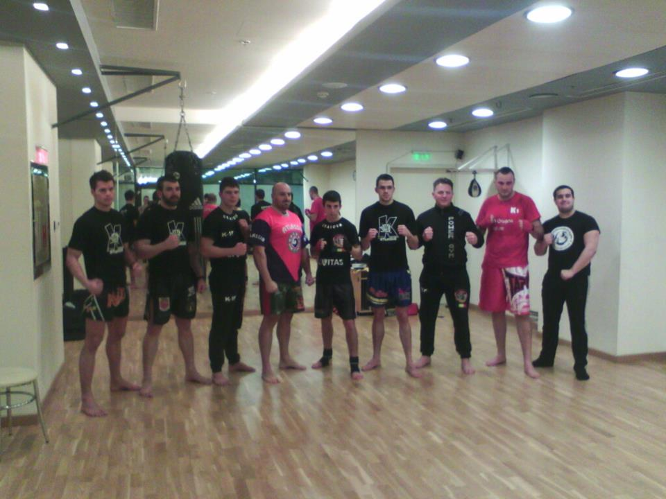 Team Power Gym K-1 -sesiune sparring Sibiu