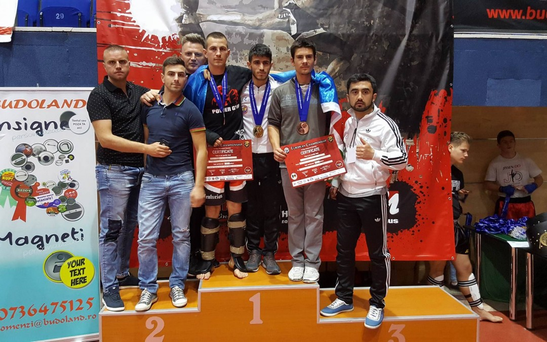 Alex Ivascu – Vicecampion European Muay Thai
