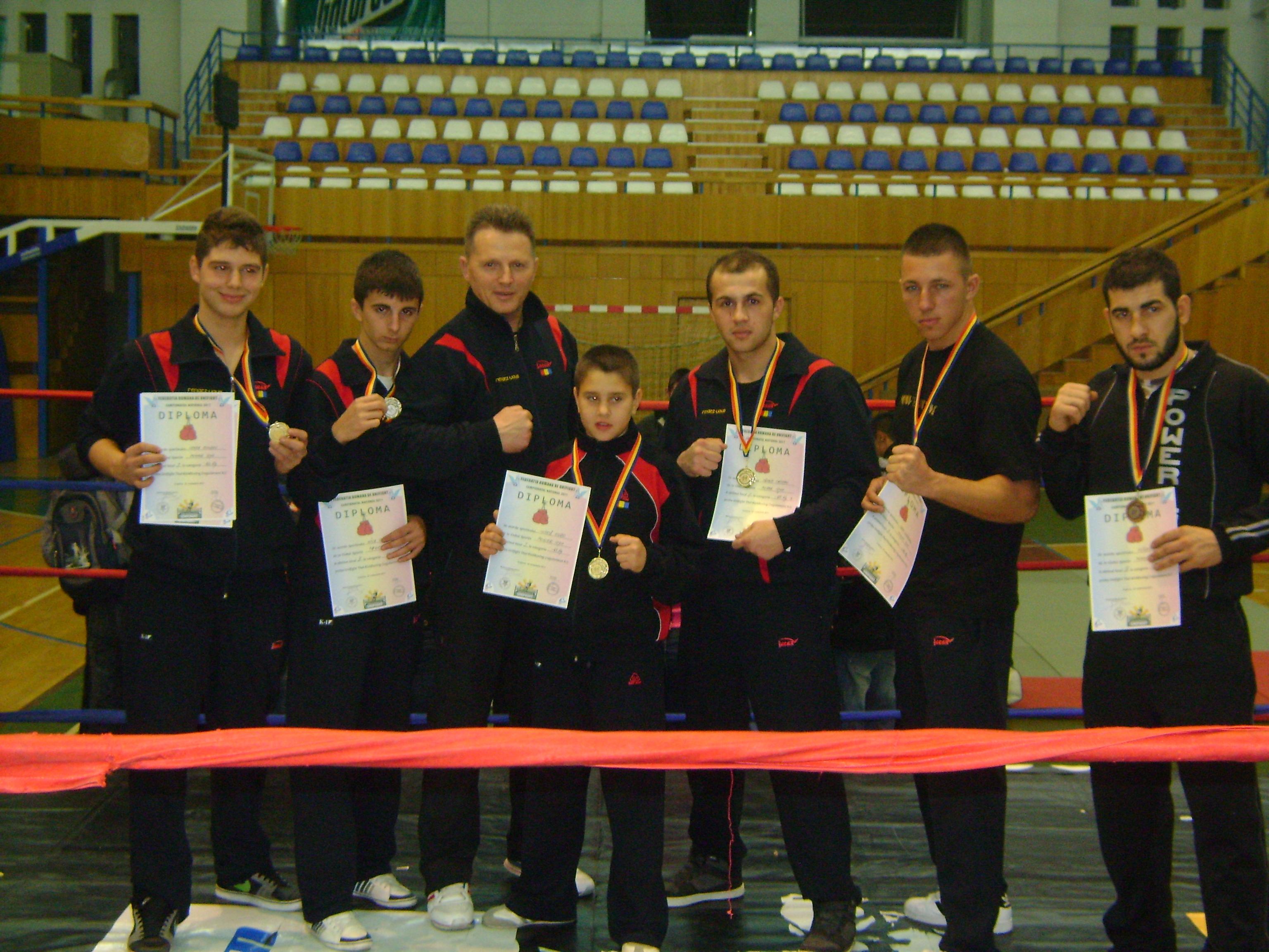 Rezultatele Campionatului Național K-1 Rules