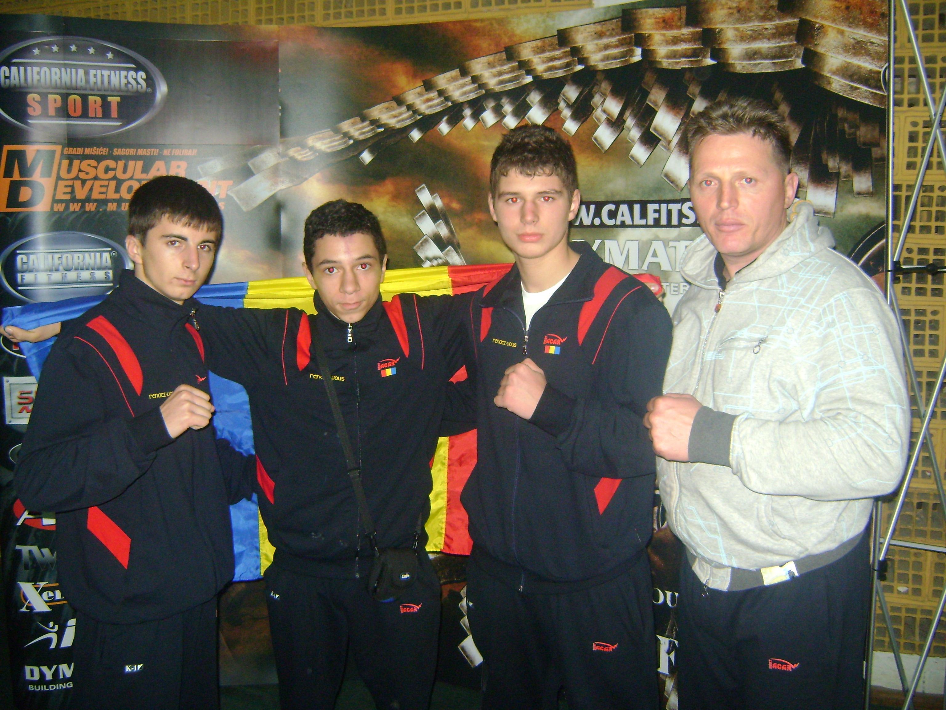 BPN 8 Serbia-Juniorii de la Power Gym medaliati cu AUR si ARGINT